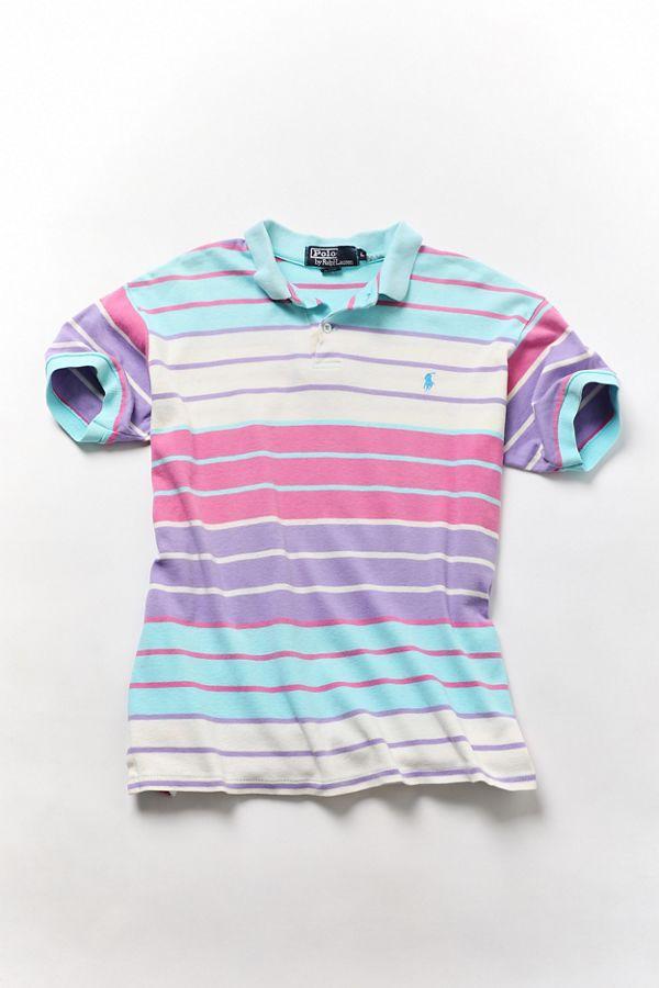 Multi Stripe Shirt Ralph Lauren Vintage Polo rdxeBWCo
