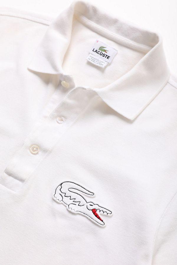 4e2e0fdd8fc7 Vintage Lacoste White Polo Shirt   Urban Outfitters