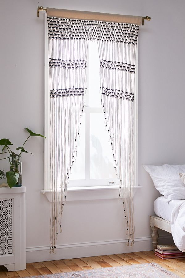 Slide View: 1: Kelsi Macramé Beaded Portal
