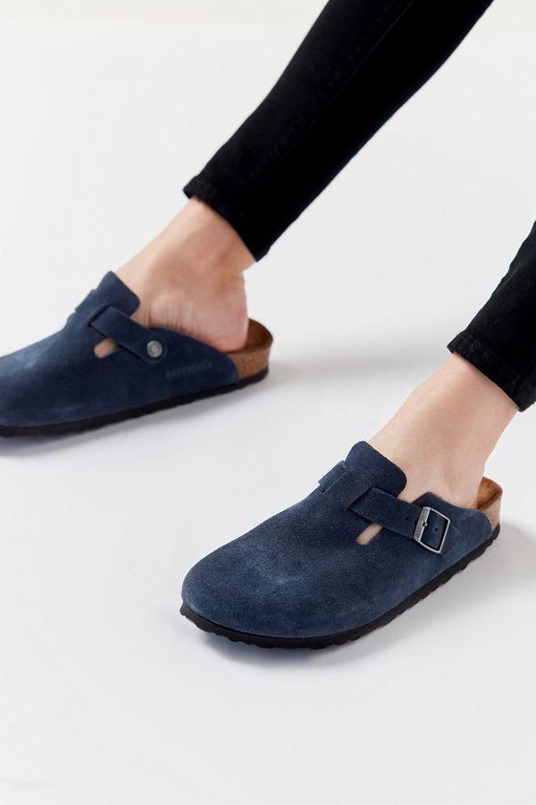 Birkenstock Boston Soft Footbed Suede Clog Women's