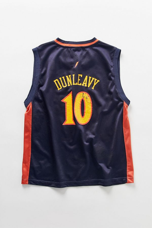 wholesale dealer 82a6b fcec1 Vintage Reebok Mike Dunleavy Golden State Warriors Basketball Jersey