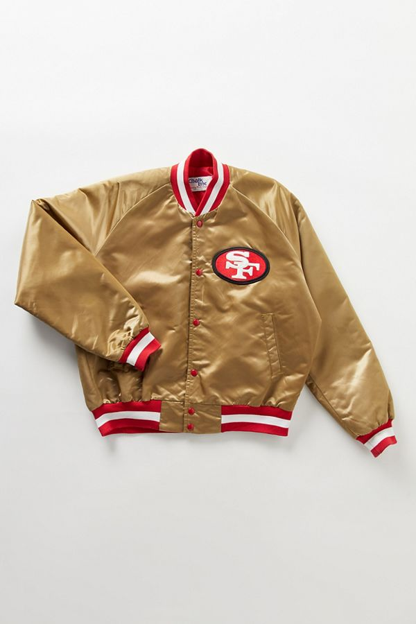 free shipping 4a8c0 307ff Vintage San Francisco 49ers Bomber Jacket