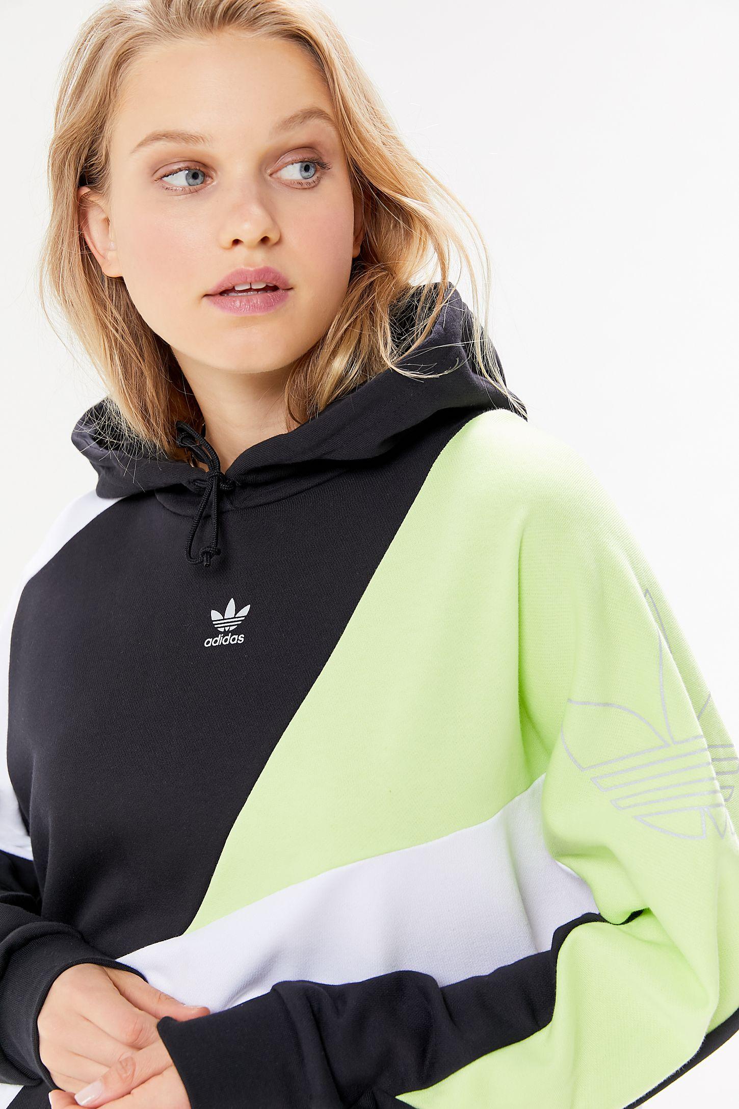 Adidas color block sweatshirt Sz. Lrg