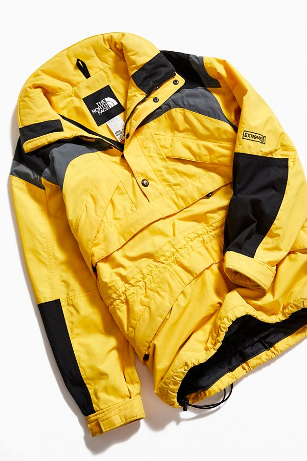 633b3b10f Vintage The North Face '80s Yellow Pullover Ski Jacket