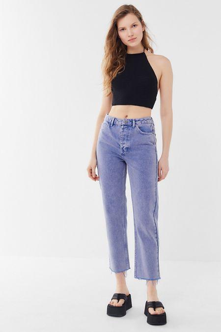 918592f8da3 BDG High-Rise Slim Straight Jean – Lilac