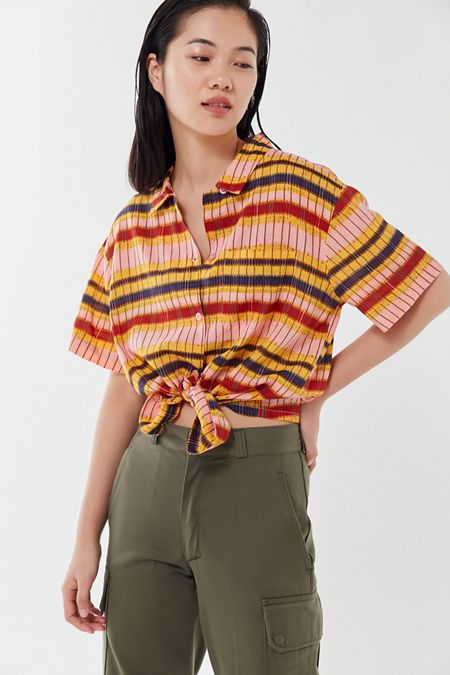 d973b5ba Oversized Shirts + Blouses For Women | Urban Outfitters