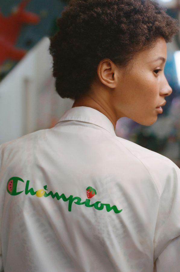 0d150c89 Slide View: 1: Champion X Susan Alexandra UO Exclusive Fruit Coach Jacket