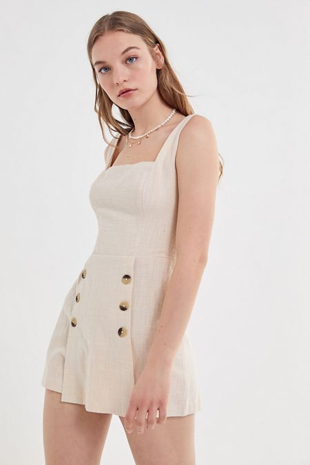 2b6e2df83d38 beige - Dresses + Rompers on Sale | Urban Outfitters
