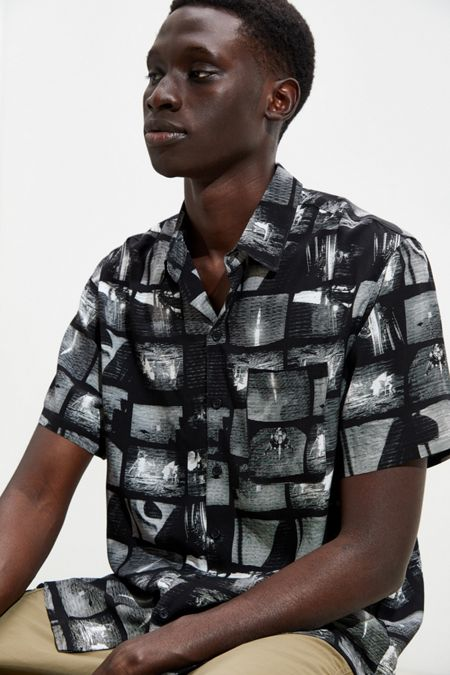 6d953d0eb637 Men's Shirts | Flannel + Button Downs | Urban Outfitters