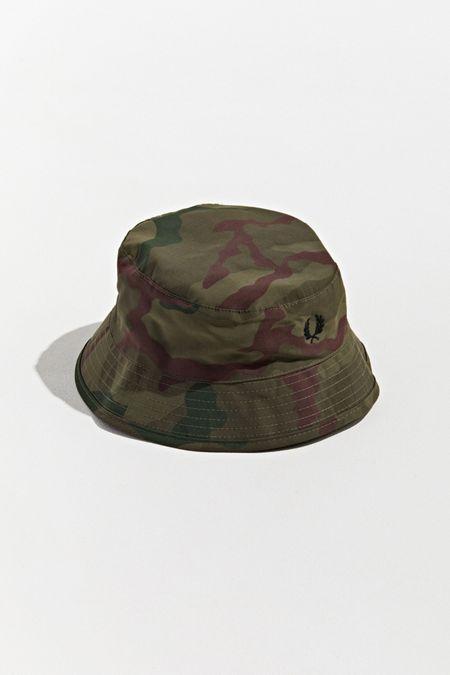 74467988e Fred Perry Camo Bush Bucket Hat