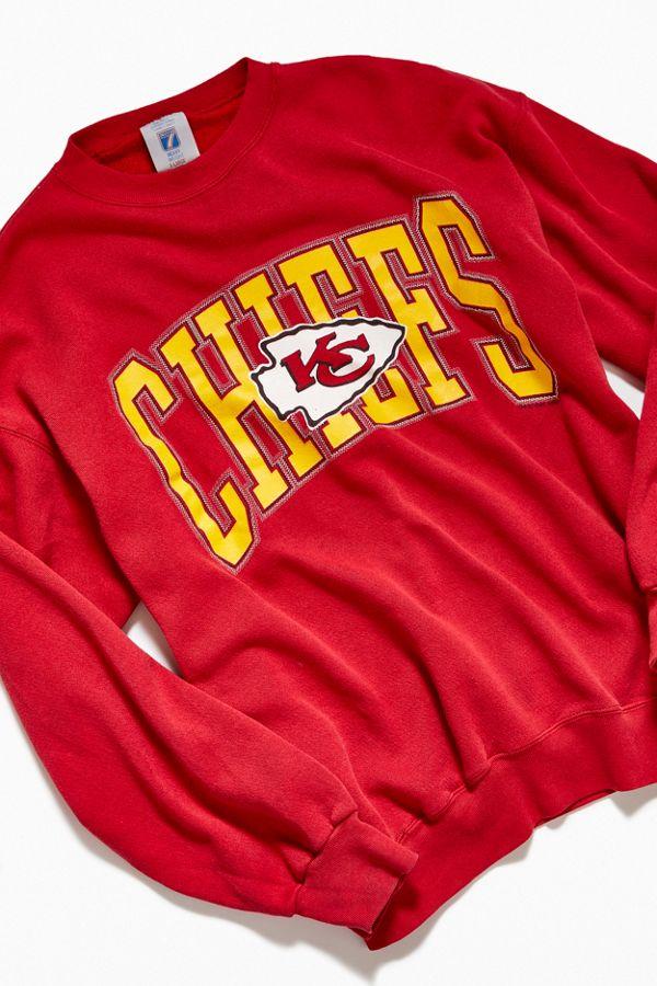 new arrivals 9d122 efdf5 Vintage KC Chiefs Crew-Neck Sweatshirt