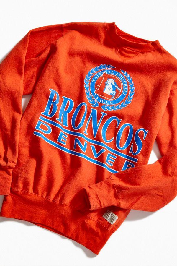 wholesale dealer d0177 16d9d Vintage Denver Broncos Crew-Neck Sweatshirt