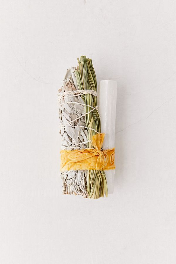 Slide View: 1: Catherine Rising Large Incense + Crystal Bundle