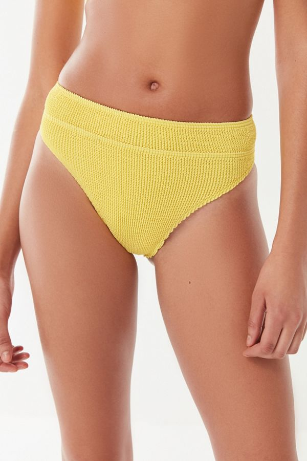 0fd854c52d429 BOUND By bond-eye Savannah High-Waisted Bikini Bottom | Urban Outfitters