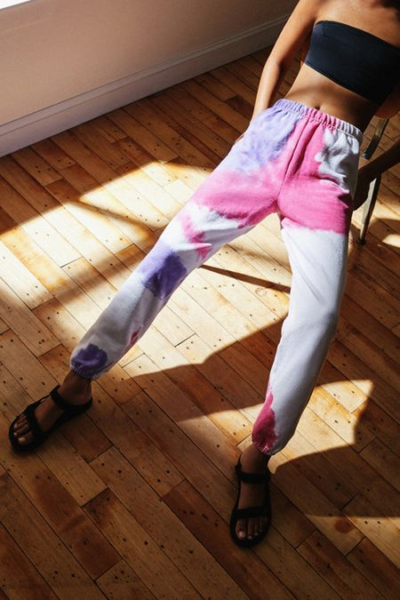 c31a2fcba2665 Urban Renewal Recycled Blown Out Tie-Dye Jogger Pant