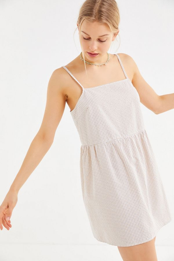 72828cda6c1 Shoptagr | Urban Renewal Remnants Tiered Linen Midi Dress by Urban ...