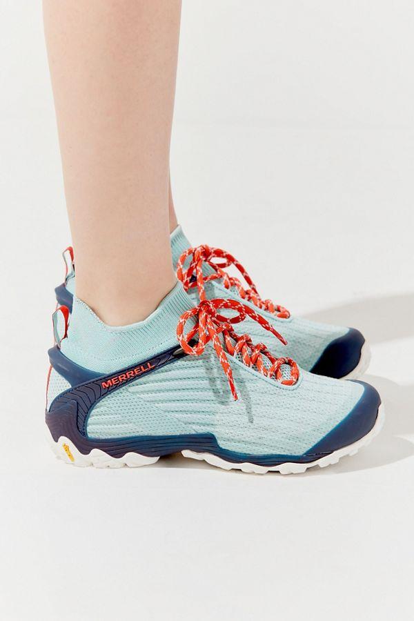 bc2e254a63c Merrell Chameleon 7 Knit Mid Hiker Sneaker