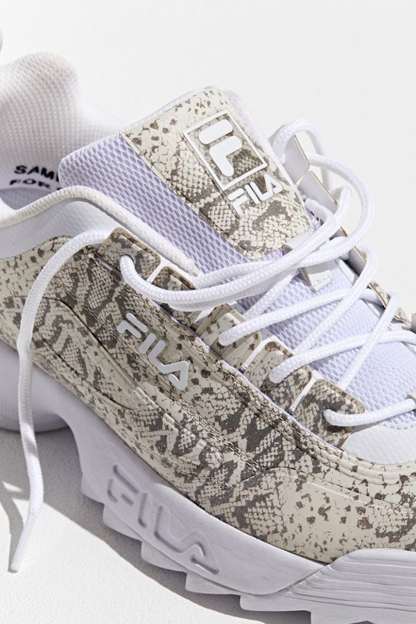 FILA UO Exclusive Snake Print Disruptor 2 Sneaker