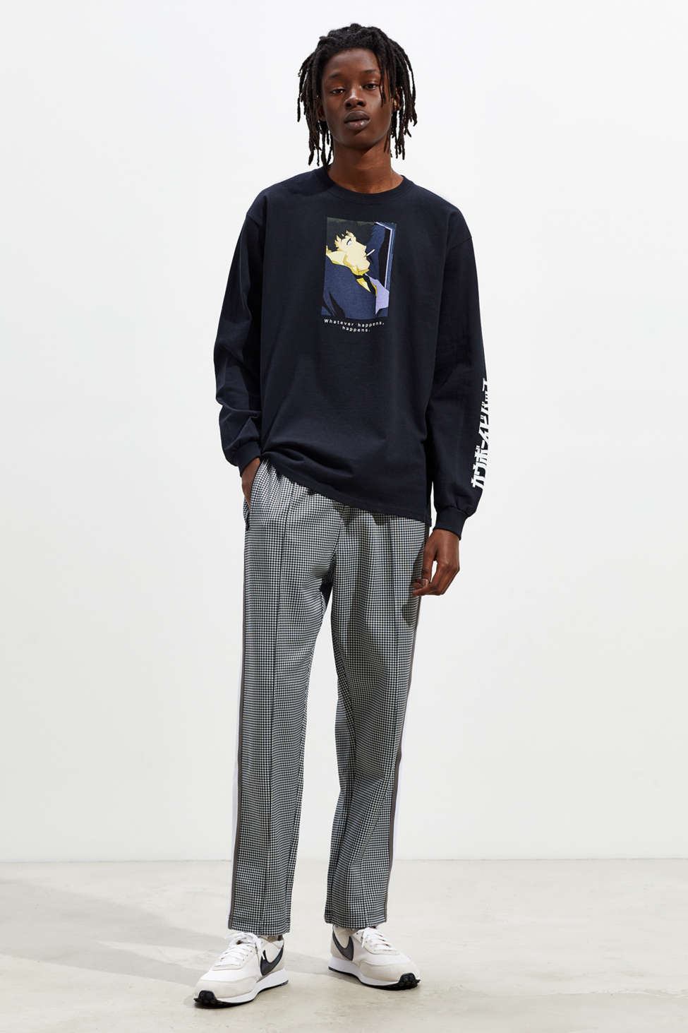 Cowboy Bebop Whatever Happens Long Sleeve Tee by Urban Outfitters