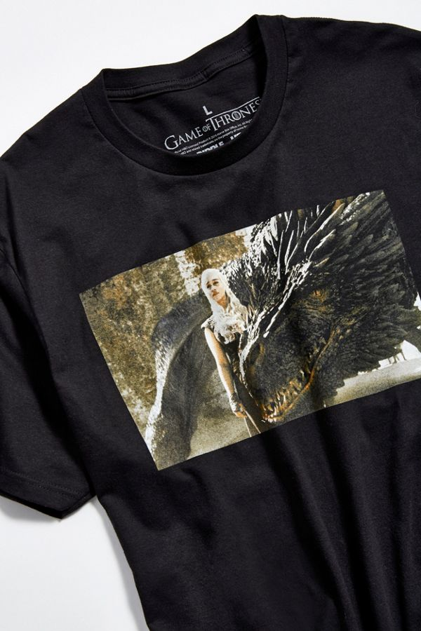 2aade073a5 Game Of Thrones Khaleesi Dragon Tee | Urban Outfitters