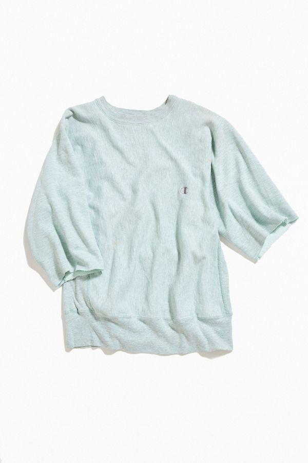 95280e2e Vintage Champion Short Sleeve Crew-Neck Sweatshirt | Urban Outfitters