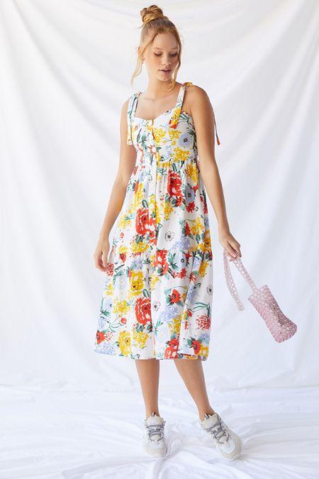 b72d44f135 Midi + Maxi Dresses | Urban Outfitters