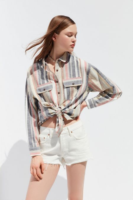 65a524bd Button-Downs Shirts + Blouses For Women | Urban Outfitters