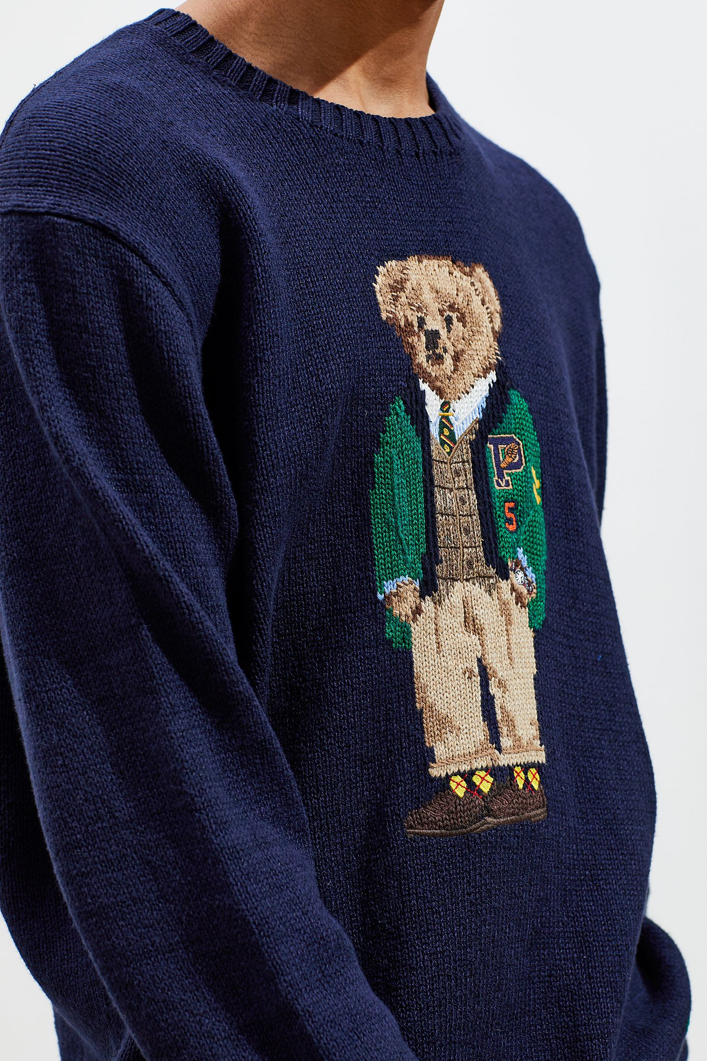 9ff029d58c Polo Ralph Lauren Yale Bear Sweater