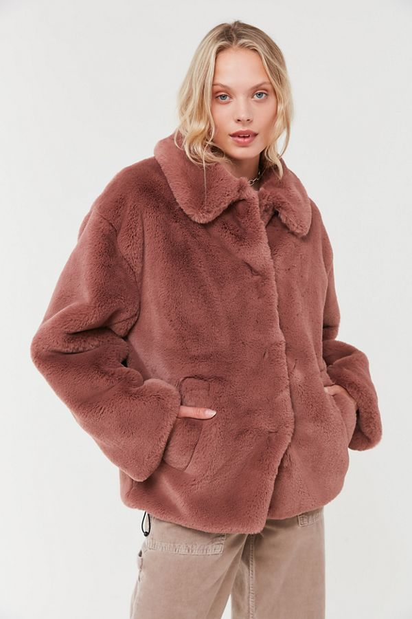 faux Coat fur fur Faux in coatBeige Fur 2019Brown faux mwy80nvNO