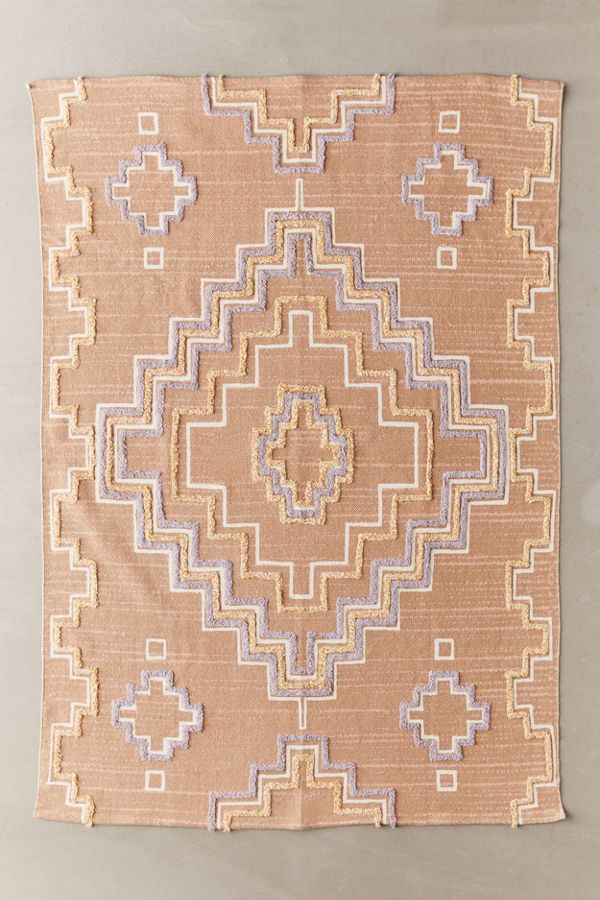 Vida Printed + Tufted Rug by Urban Outfitters