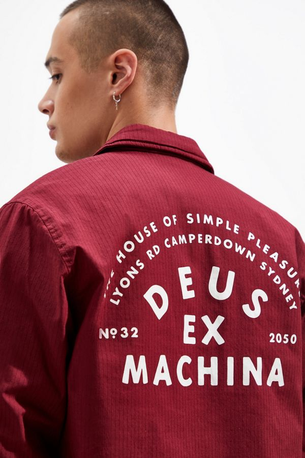 Deus Ex Machina Bowman Camper Down Coach Jacket by Deus Ex Machina
