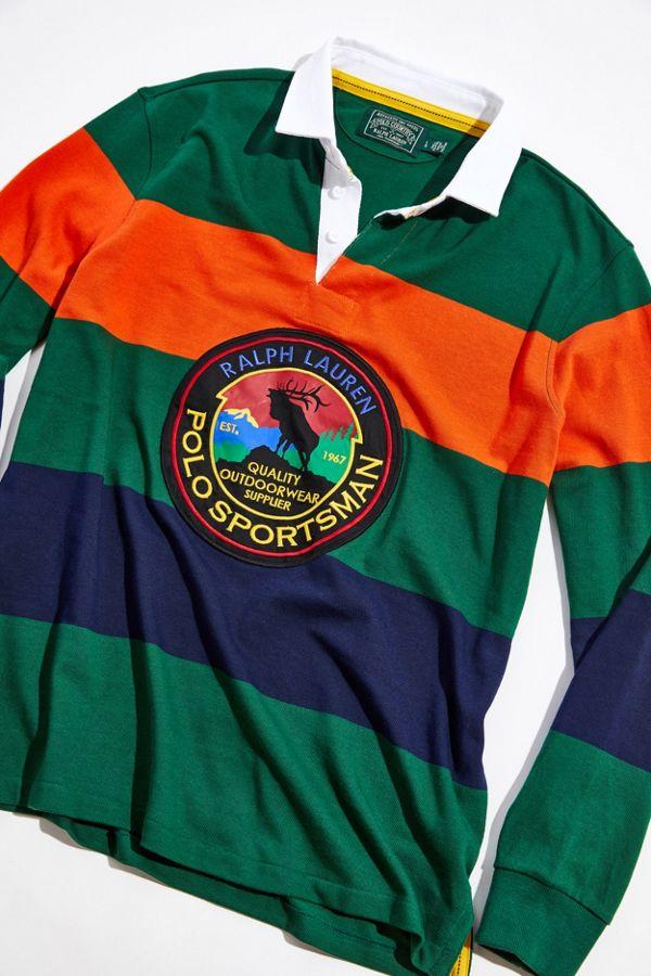 buy popular c0e1f 3d696 Polo Ralph Lauren Sportsman Rugby Shirt