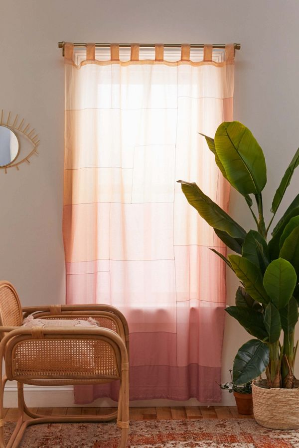 Slide View: 1: Eliana Colorblock Window Panel