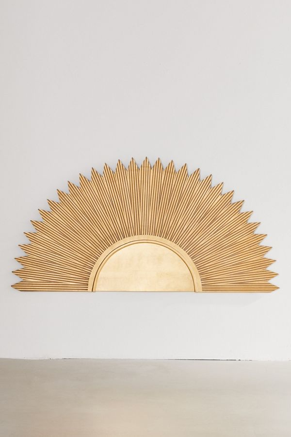 Deco Sun Headboard by Urban Outfitters