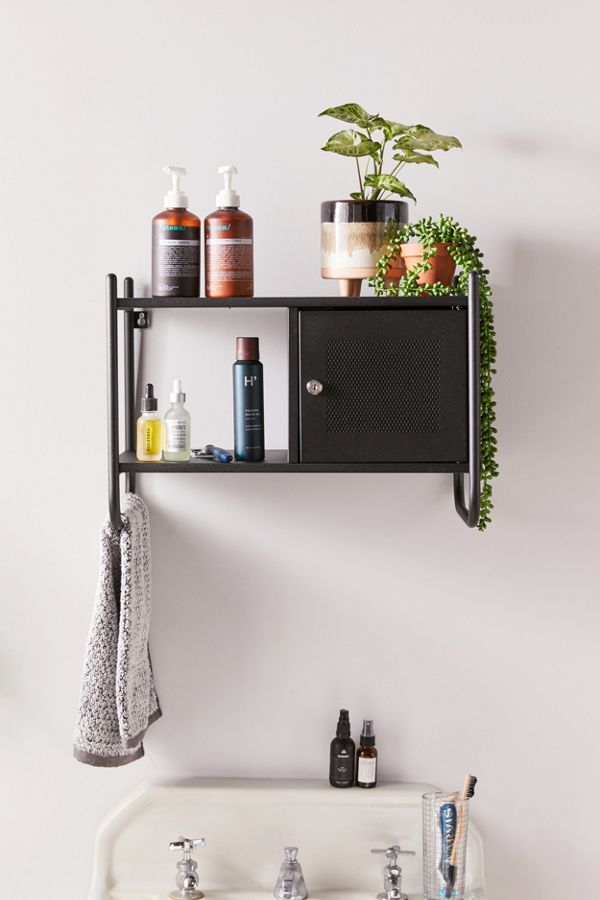 Slide View: 1: Wesley Wall Cabinet