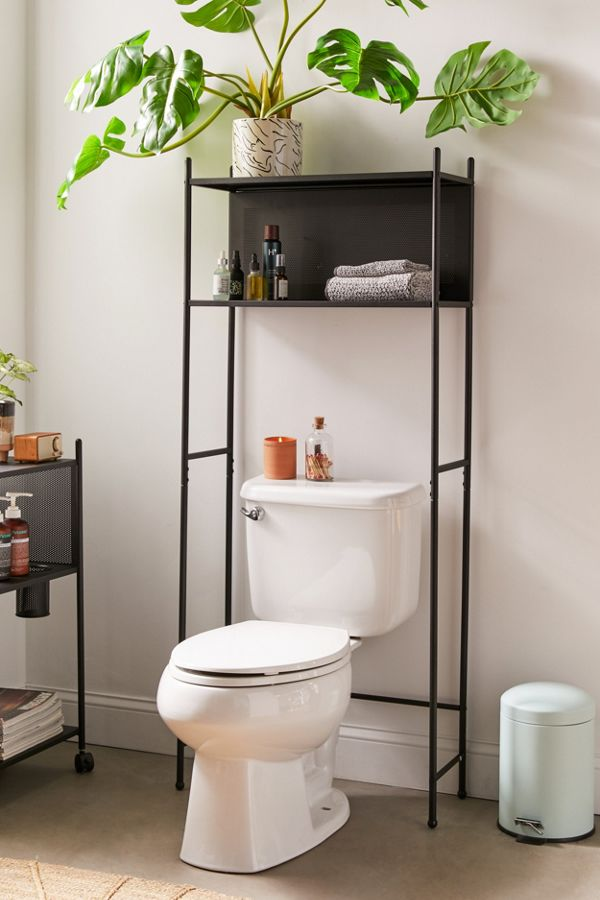 Slide View: 1: Wesley Over-The-Toilet Storage Shelf