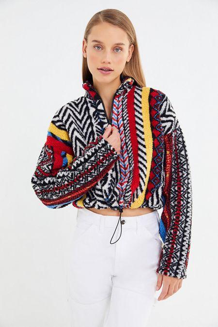 826c72ab0f2 UO Bali Printed Pullover Sweatshirt