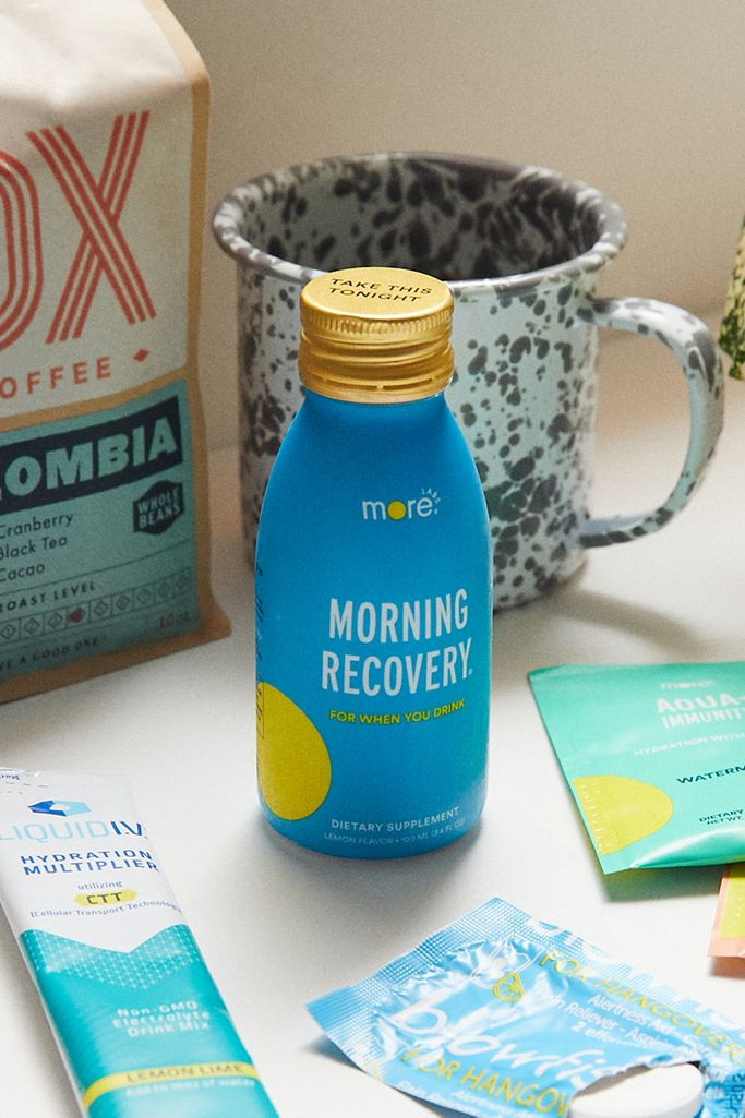 More Labs Morning Recovery Lemon Flavored Supplement Urban Outfitters