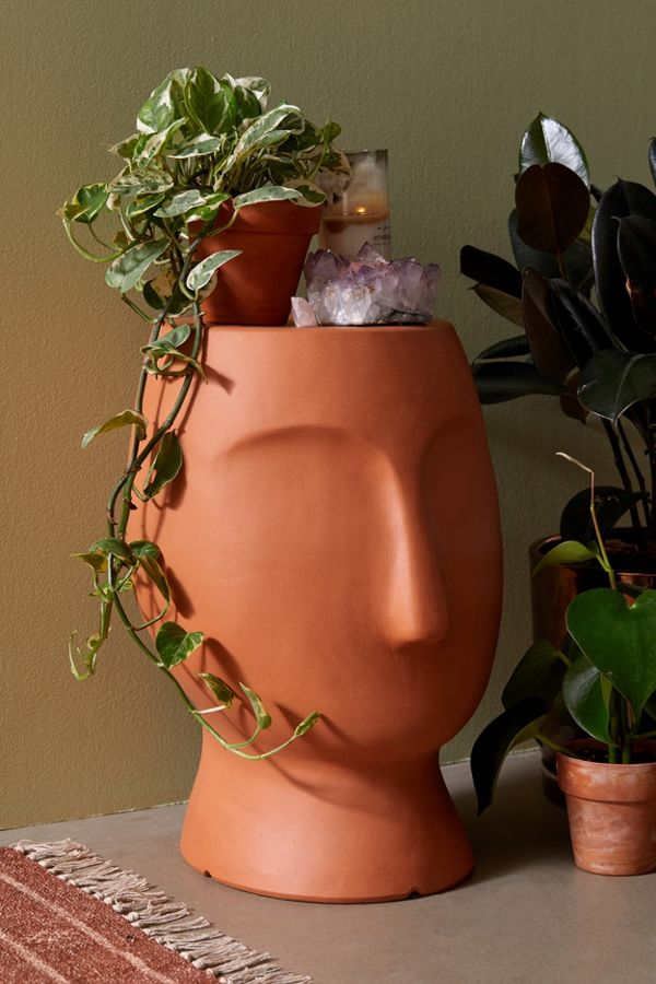Slide View: 1: Profile Ceramic Side Table