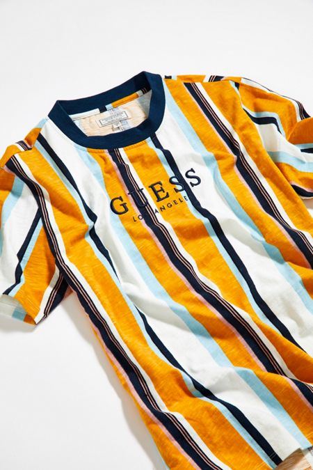 cd79ddd26 GUESS Sayer Striped Tee