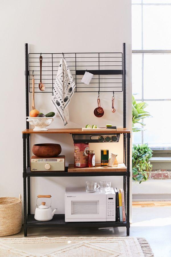 Slide View: 1: Kitchen Storage Station