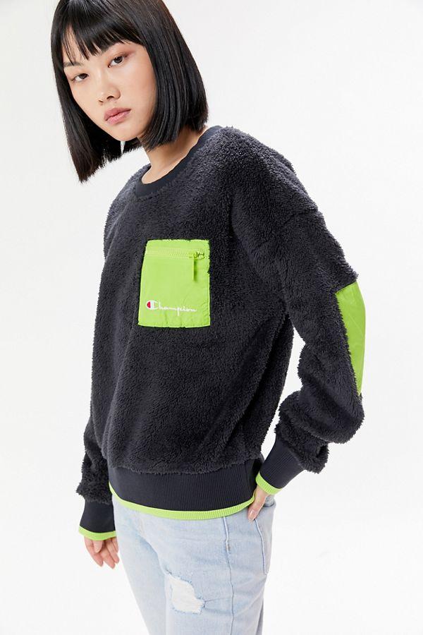 champion-uo-exclusive-sherpa-crew-neck-sweatshirt by champion