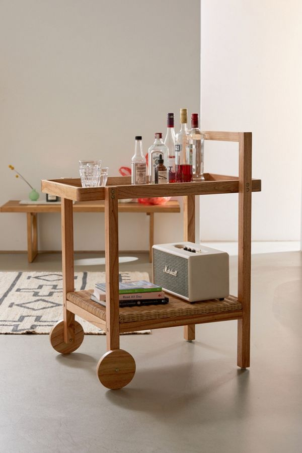 Slide View: 1: Lita Kitchen Cart