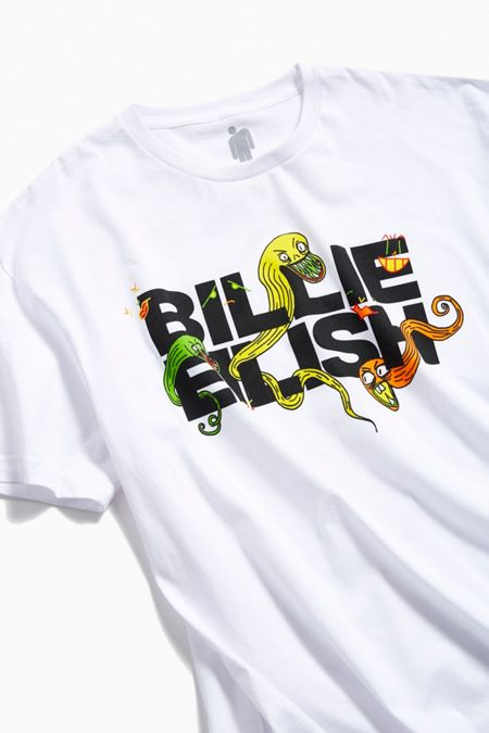 afbabaa2384 Billie Eilish UO Exclusive Logo Tee · Quick Shop