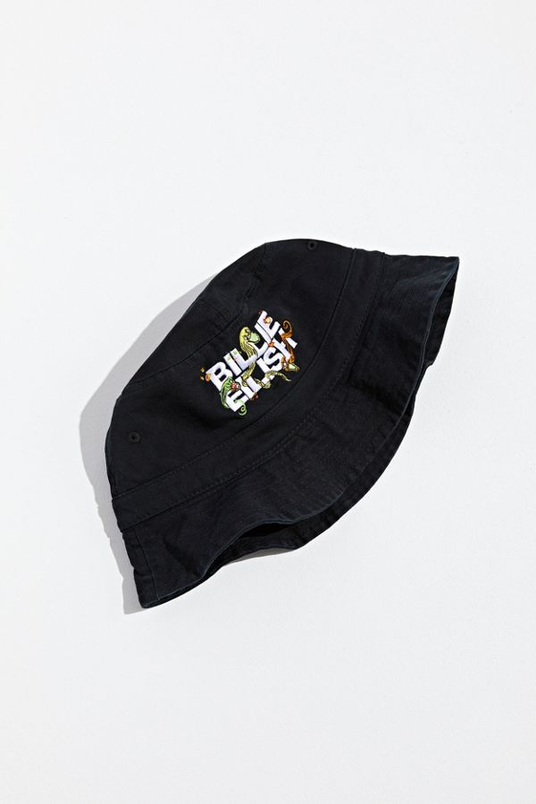 26d00588 Billie Eilish UO Exclusive Logo Bucket Hat | Urban Outfitters