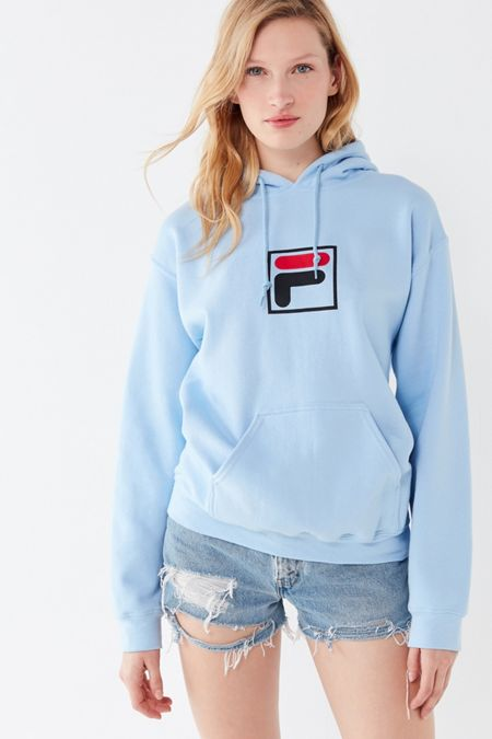 e6463891971f FILA UO Exclusive Box Logo Hoodie Sweatshirt