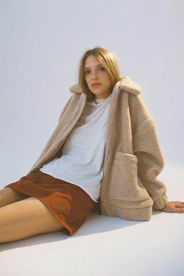 Slide View: 1: I.AM.GIA Pixie Teddy Coat