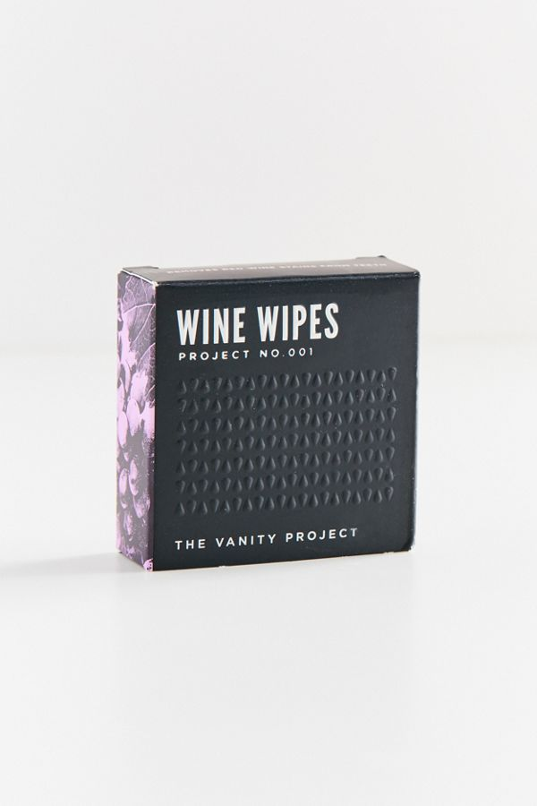 The Vanity Project Wine Wipes Compact