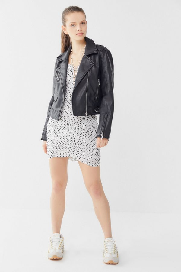 bb2afe947 BLANKNYC Faux Leather Moto Jacket | Urban Outfitters Canada