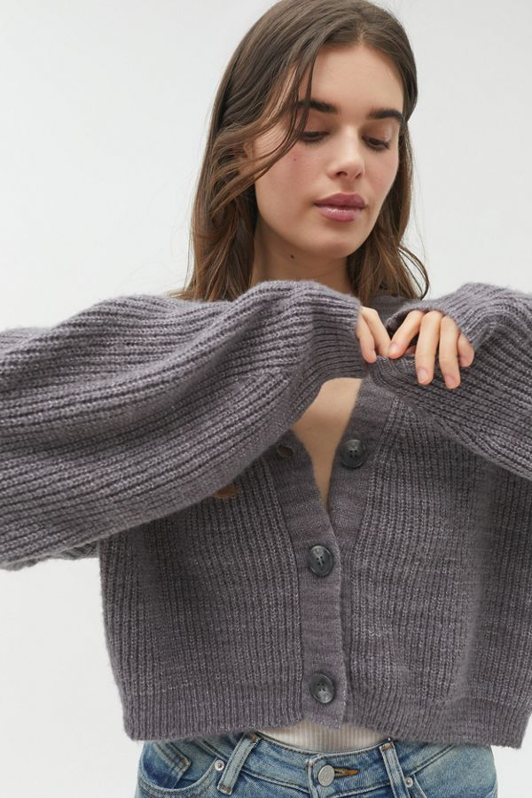 Truly Madly Deeply Piper Slouchy Balloon Sleeve Cardigan by Truly Madly Deeply